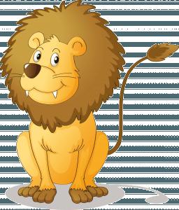 leon 12 256x300 Cuento infantil: El león con miedo