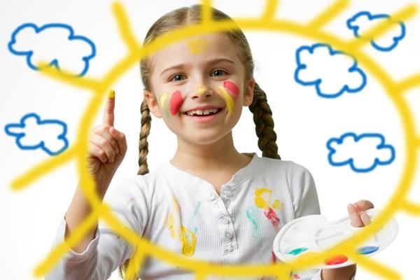 niña sol Cuentos para niños: Lucia y el espantanubes