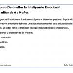 inteligencia emocional 1 026 150x150 Fichas para trabajar la inteligencia emocional