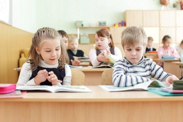 clase niños primaria