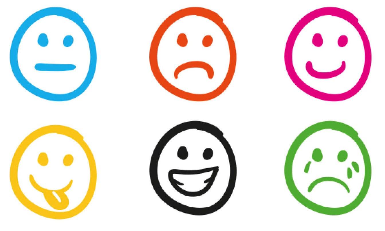 Juego educativo los recortables de las emociones for Expresiones cortas
