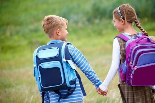 niños primer amor