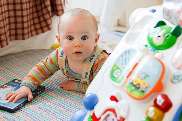 estimular en el bebé